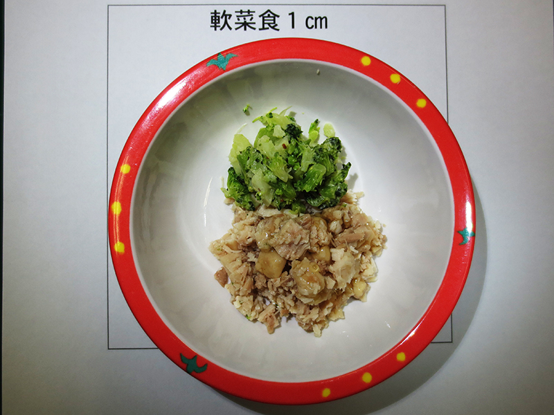 軟菜食1cm